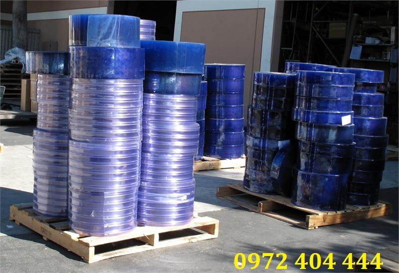 Rèm nhựa công nghiệp dạng cuộn