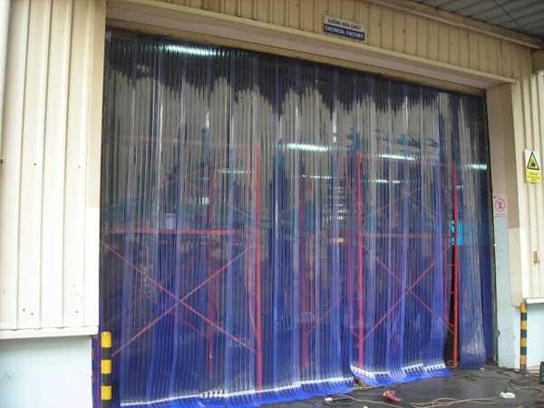 Rèm nhựa tại Kon Tum