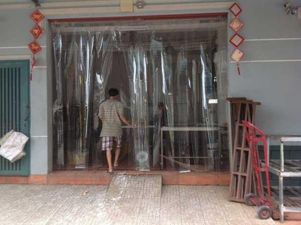 Rèm nhựa tại Quảng Ngãi