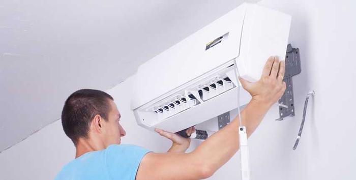 Lắp máy lạnh vị trí không phù hợp